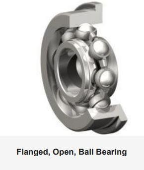 Flanged Open Ball Bearing