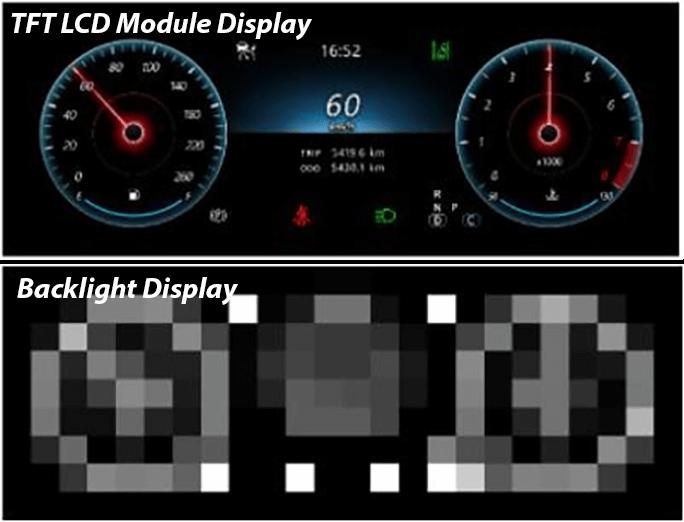 tft lcd module display