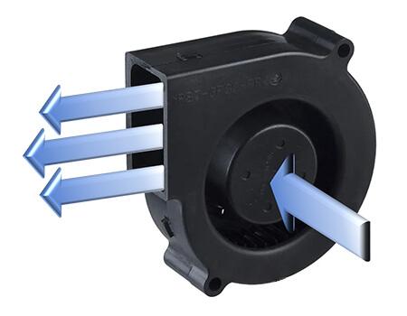 blower airflow diagram