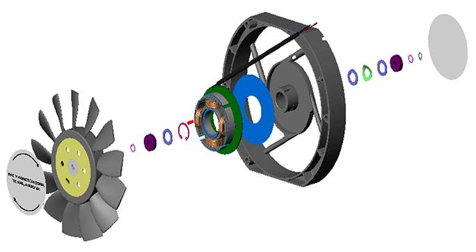 cooling fan diagram